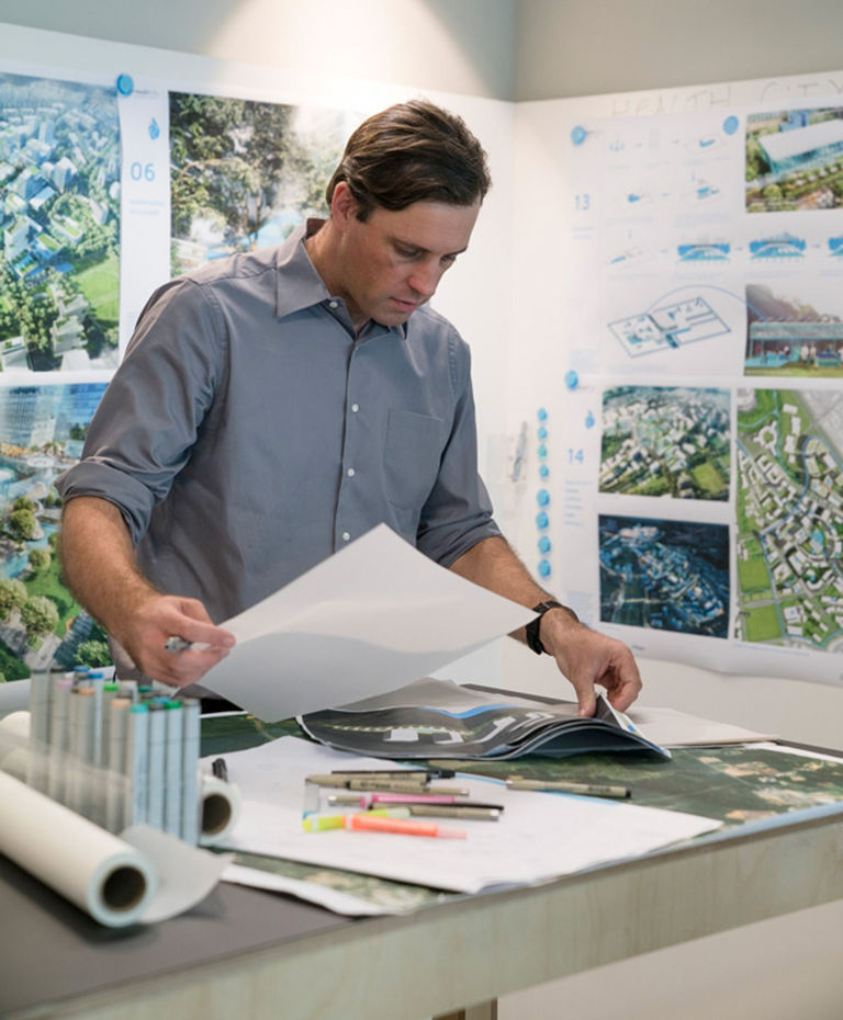 Ed Baker is a Director at Broadway Malyan in Singapore, leading the urban design and masterplanning team.