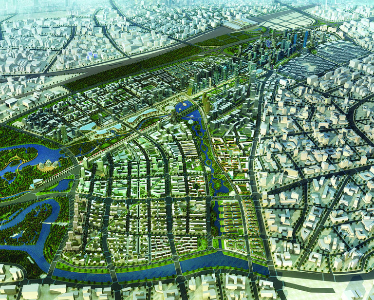 Broadway Malyan designed the Nanjing Town Centre Mastrerplan, based on smart planning and design principles