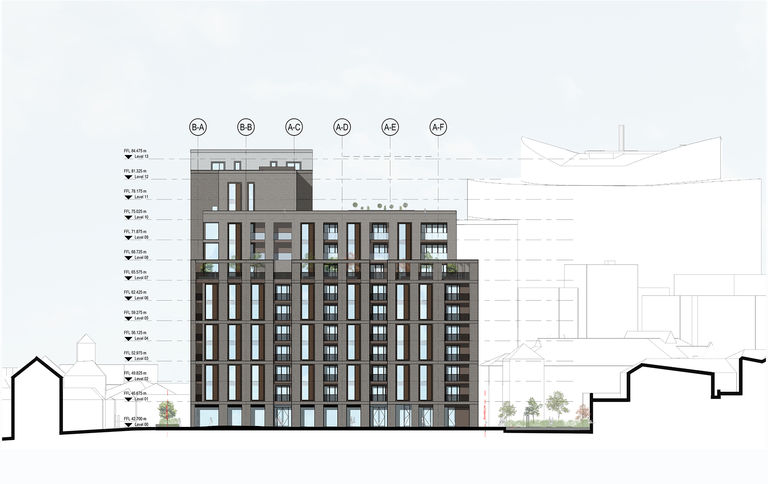 St Dunstan's residential development in Woking for Thameswey Developments