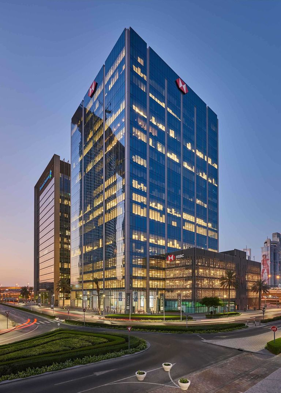 Broadway Malyan | Work completes on HSBC's new Dubai HQ
