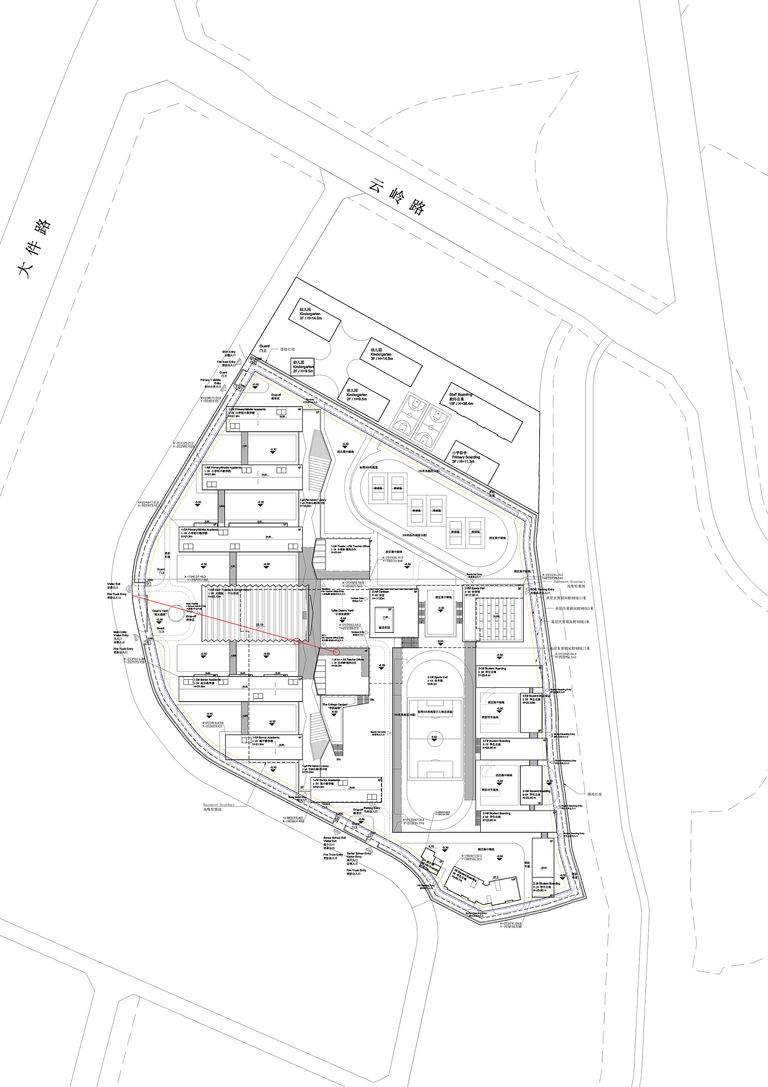 Site plan of Chengdu Westminster, designed by Broadway Malyan